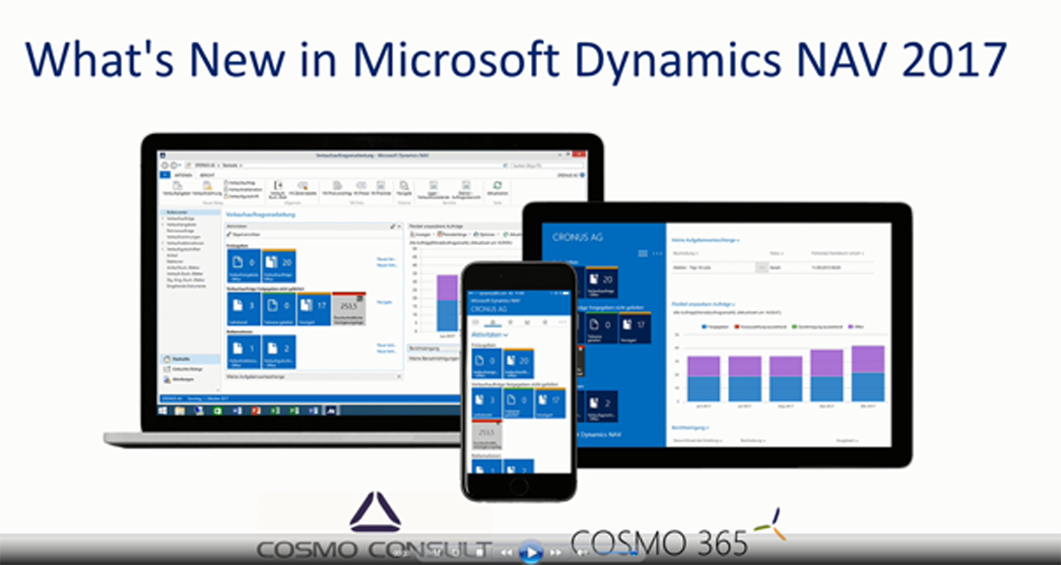 What's New Microsoft Dynamics NAV 2017   COSMO CONSULT