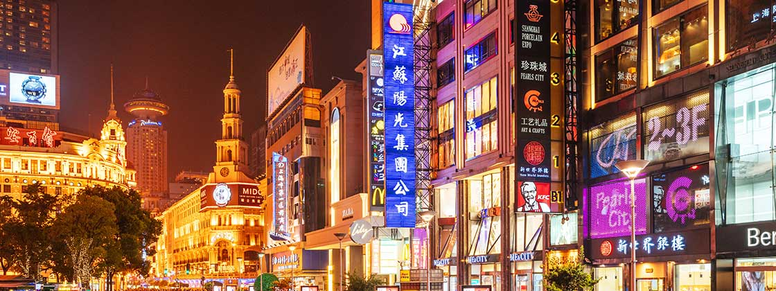 COrporate REquirements - Foto of asian city by night