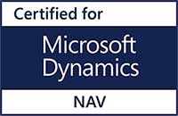 Logo - Certified for Microsoft Dynamics NAV