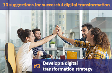 Picture: Develop a digital transformation strategy